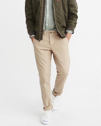ANF Athletic Slim Officer Chinos
