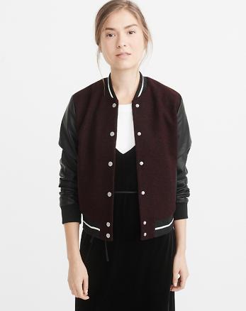 ANF Varsity Jacket