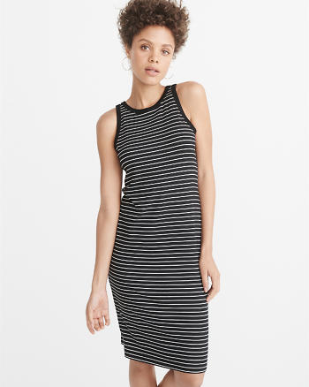 ANF Ribbed Tank Dress