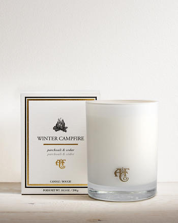 ANF Winter Campfire Candle