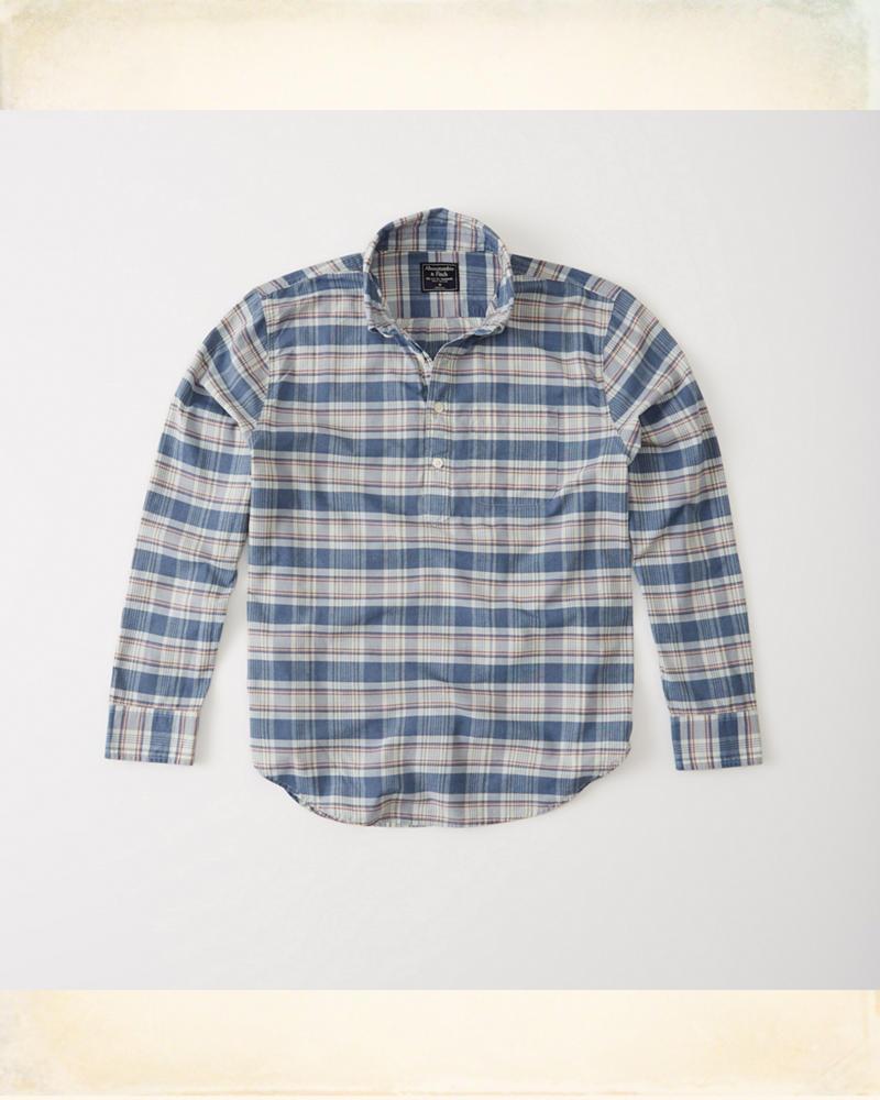 a57f2579f114 Madras Popover Shirt
