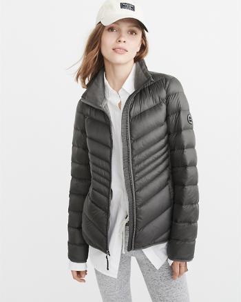 ANF Lightweight Puffer Jacket