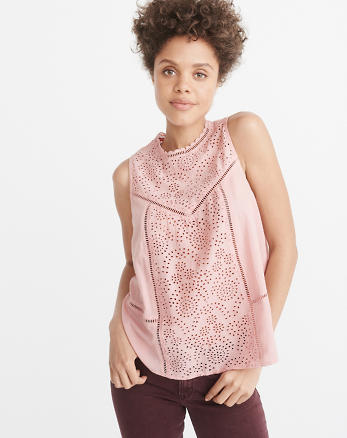 ANF Button-Back Eyelet Shell