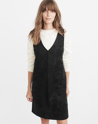 ANF Vegan Suede Dress