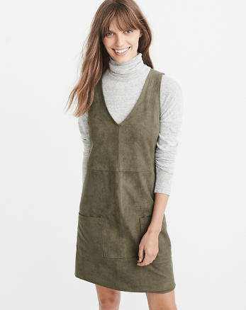ANF Vegan Suede Dress