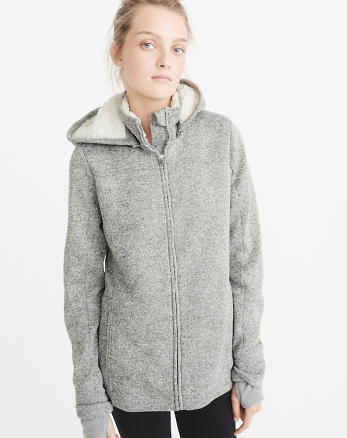 ANF Sherpa-Lined Jacket