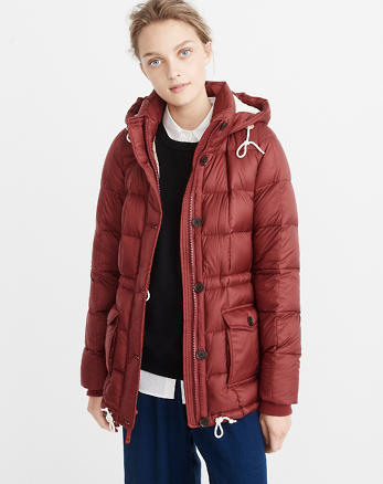 ANF Down-Filled Puffer Coat