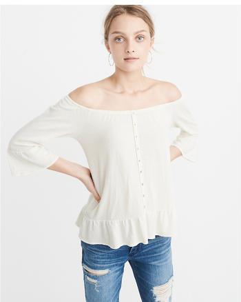 ANF Off-The-Shoulder Top