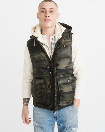ANF Down-Filled Puffer Vest