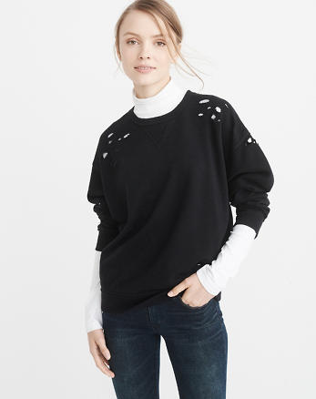 ANF Ripped Sweatshirt