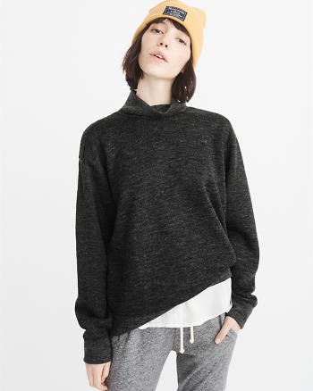 ANF Fleece Turtleneck