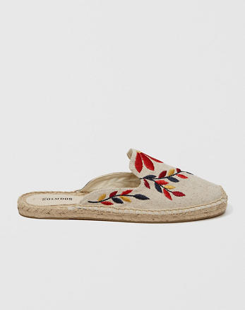 ANF Soludos Embroidered Mule