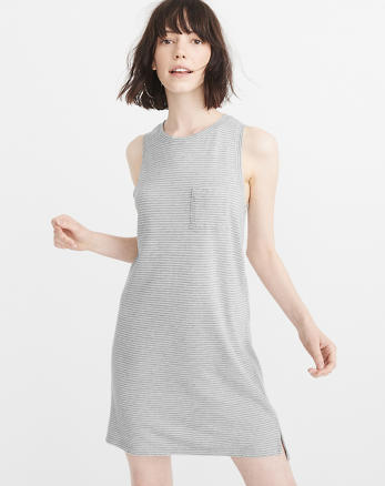 ANF Pocket Tank Dress