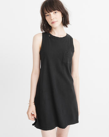 ANF Ripped Tank Dress