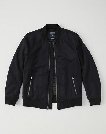 ANF Italian Wool Bomber Jacket