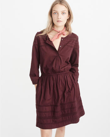 ANF Lace Trim Dress