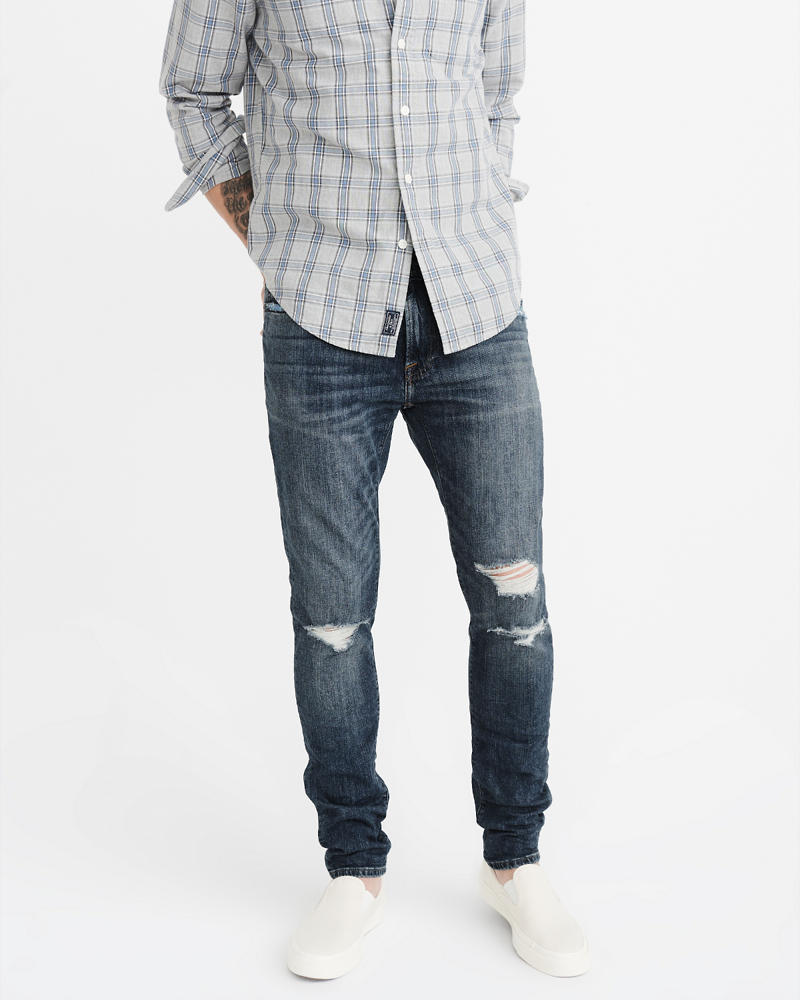 Jeans Super Slim Homme | Abercrombie & Fitch