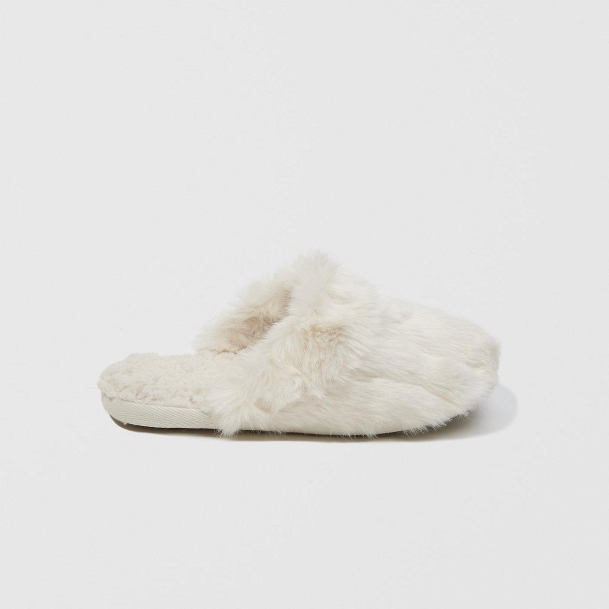 Faux Fur Slipper