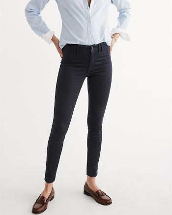 ANF Super Skinny Sateen Pants