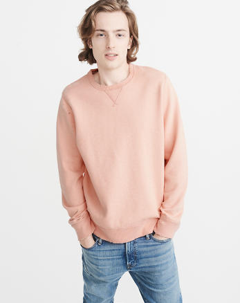 ANF Ripped Crew Sweatshirt