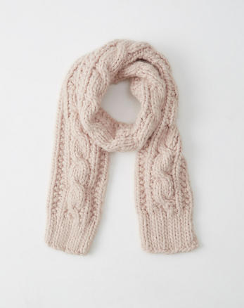 ANF Cable Knit Scarf
