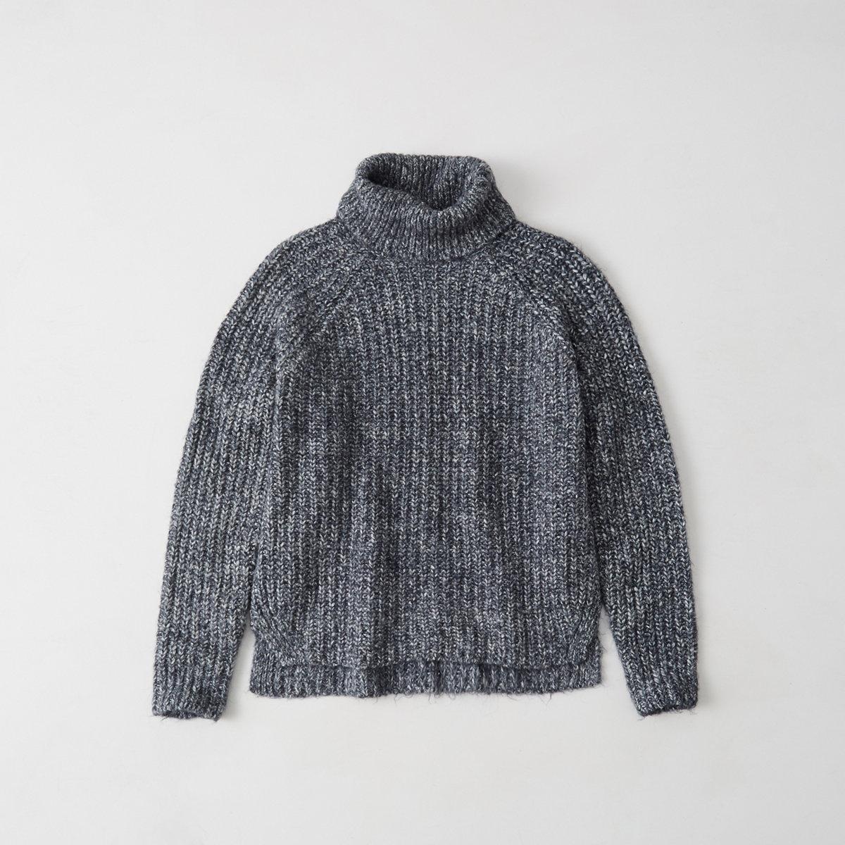 Shaker Turtleneck Sweater