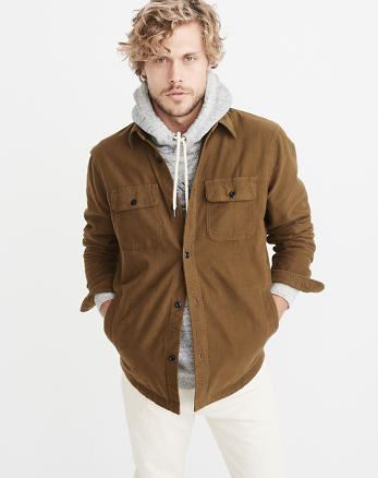 ANF Chamois Shirt Jacket
