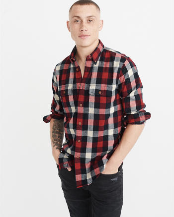 ANF Flannel Shirt