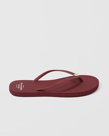 ANF Solid Rubber Flip Flops