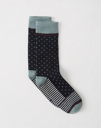 ANF Patterned Casual Socks