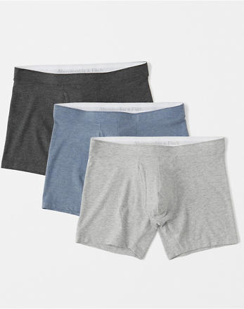 ANF Pima Cotton-Blend 3-Pack Boxer Brief