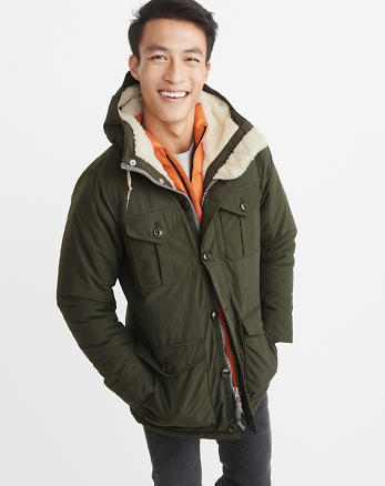 ANF Sherpa-Lined Trekking Parka