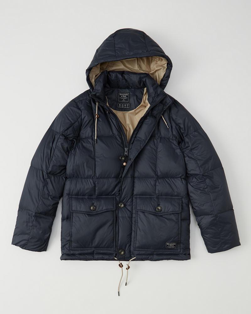 2df56b54612 Down-Filled Puffer Coat