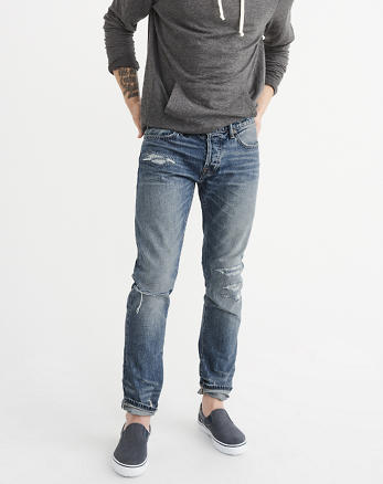 ANF Slim Selvedge Jeans