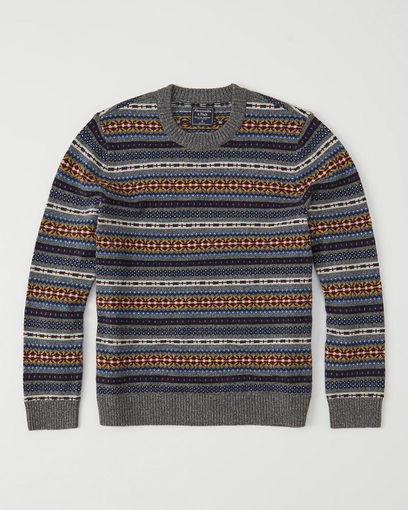 Mens Fair Isle Sweater | Mens Clearance | Abercrombie.com
