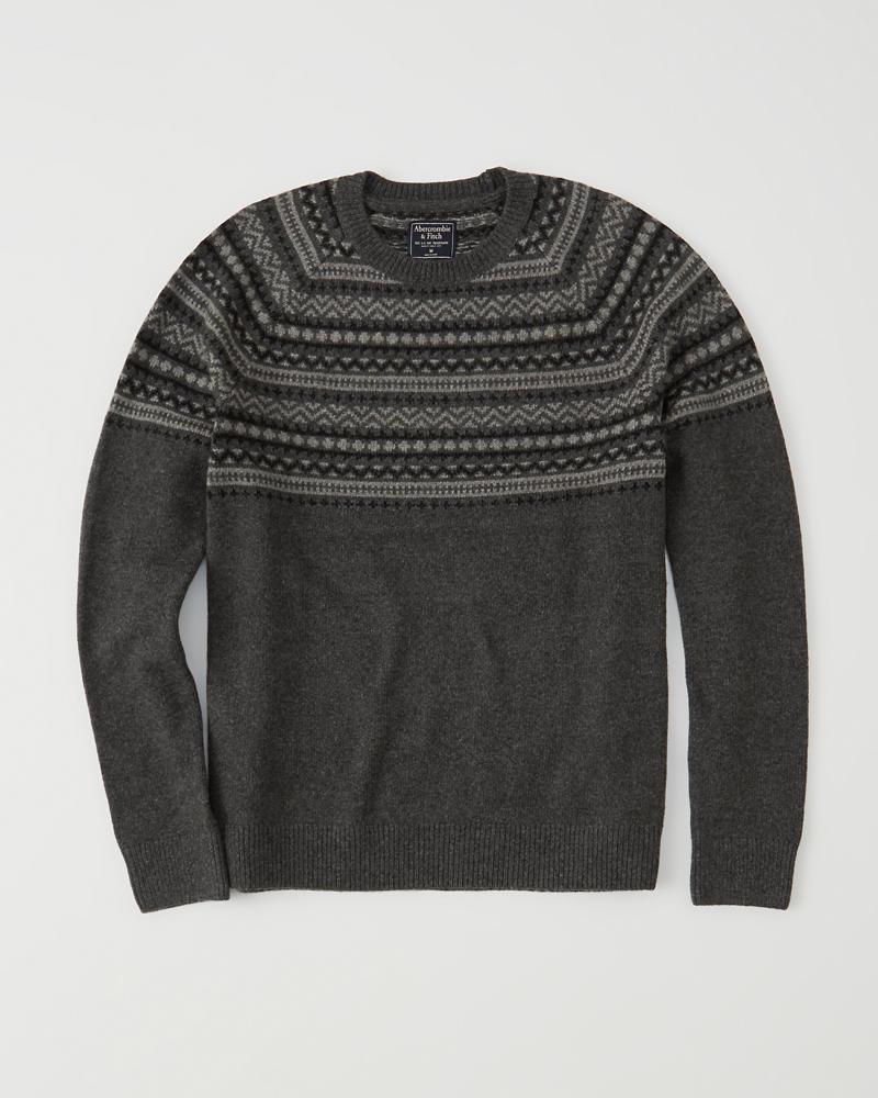 Mens Fair Isle Sweater Mens Sale Abercrombiecouk