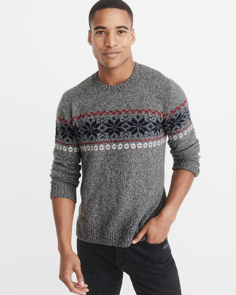 Mens Pullover | Abercrombie & Fitch