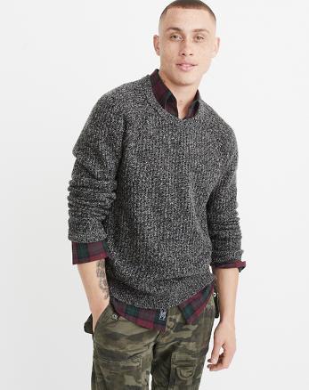 ANF Shaker Crewneck Sweater
