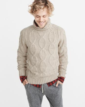 ANF Airspun Turtleneck Sweater
