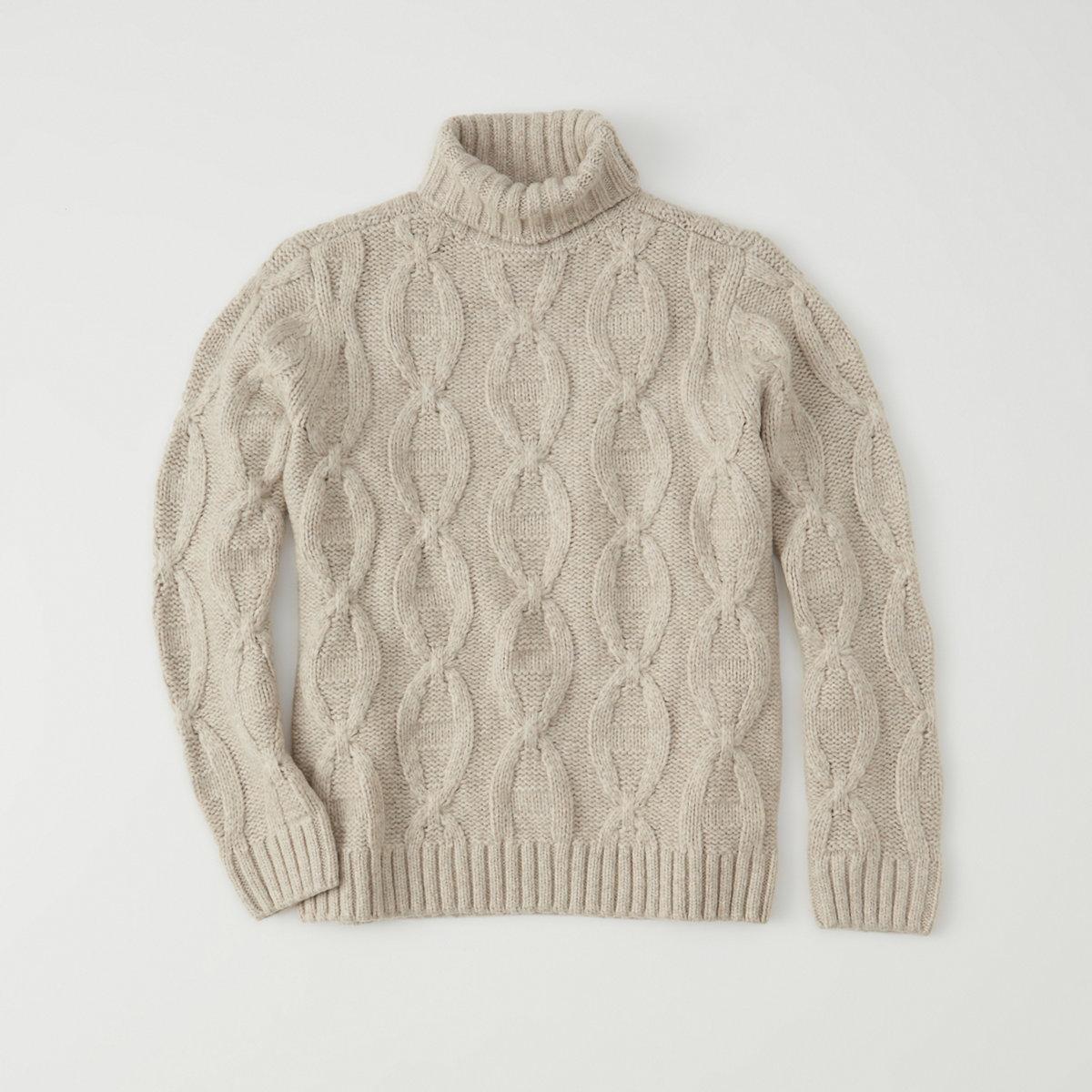 Airspun Turtleneck Sweater