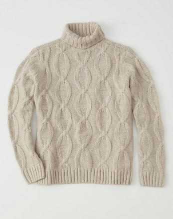ANF Airspun Turtleneck Sweater