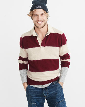 ANF Rugby Polo Sweater