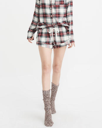 ANF Menswear Flannel Short