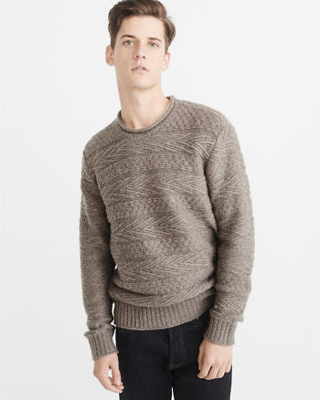 ANF Airspun Rollneck Sweater