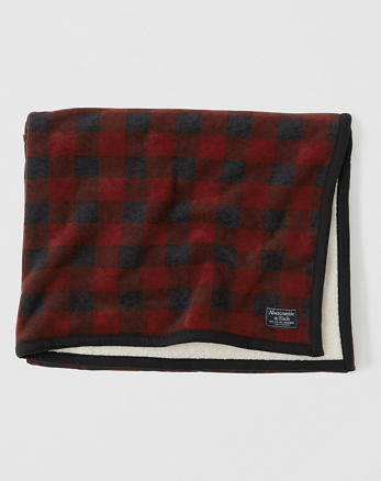 ANF Sherpa Fleece Blanket