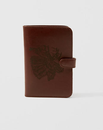ANF Leather Notebook Cover