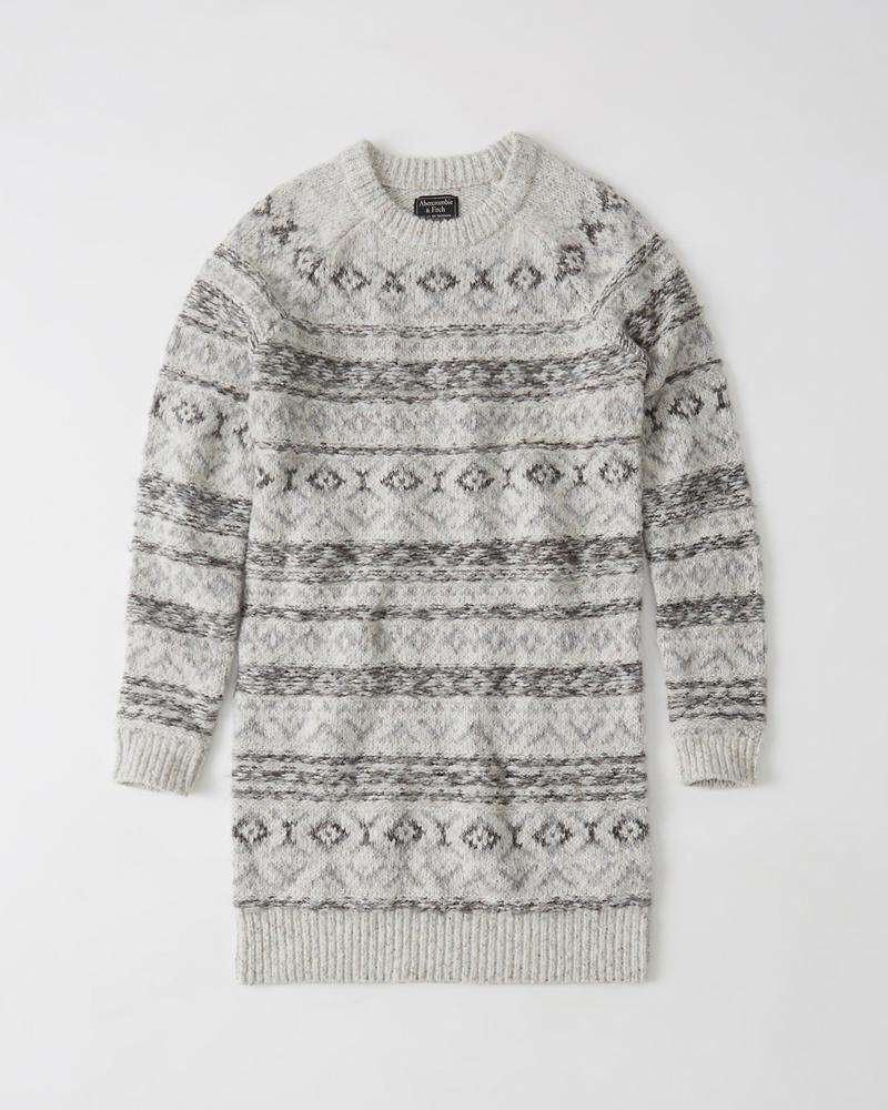 Womens Fair Isle Sweater Dress | Womens Clearance | Abercrombie.com