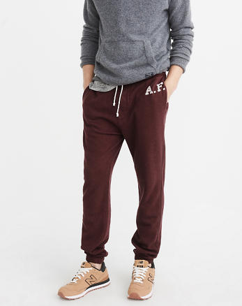 ANF Varsity Logo Sweatpants