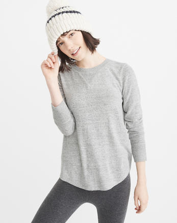 ANF Cozy Long-Sleeve Pullover