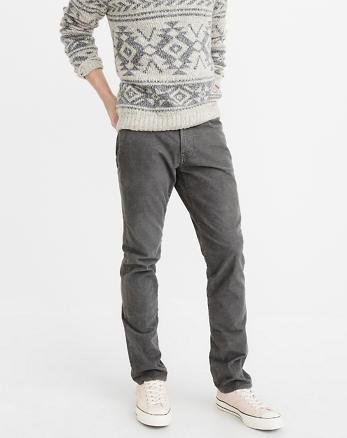 ANF Slim Corduroy Pants